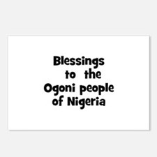 Blessings  to  the  Ogoni peo Postcards (Package o