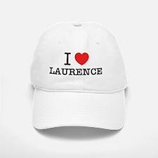 I Love LAURENCE Baseball Baseball Cap