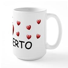 I Love Rigoberto - Mug