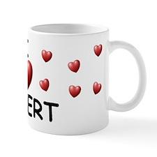 I Love Robert - Mug