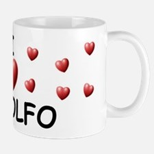 I Love Rodolfo - Small Small Mug