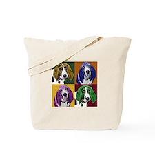 Basset Hound Duo Tote Bag