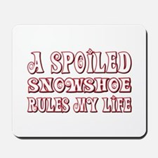 Spoiled Snowshoe Mousepad