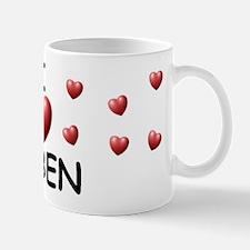I Love Ruben - Mug