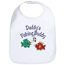 Daddy's Fishing Buddy Bib