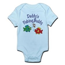 Daddy's Fishing Buddy Infant Bodysuit