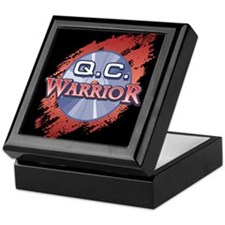 """Q.C. Warrior"" Keepsake Box"