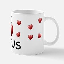 I Love Rufus - Mug