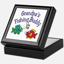 Daddy's Fishing Buddy Keepsake Box