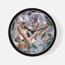 Helaine's Koala and Joey Wall Clock