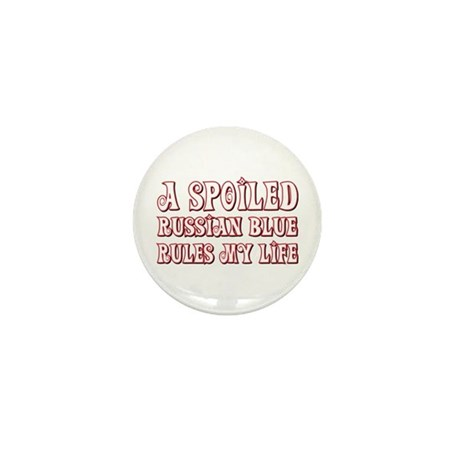Spoiled Blue Mini Button (100 pack)