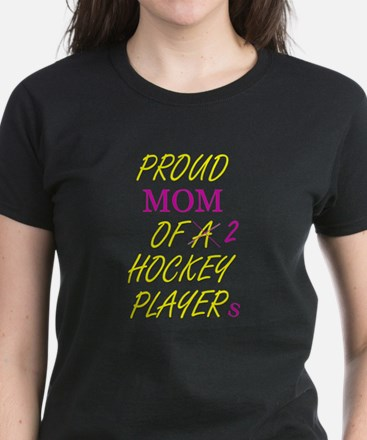 Proud Hockey Mom Women's Dark T-Shirt