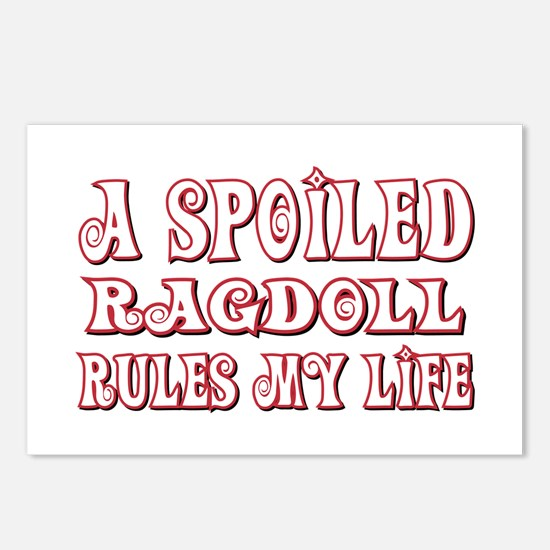 Spoiled Ragdoll Postcards (Package of 8)