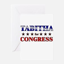 TABITHA for congress Greeting Card