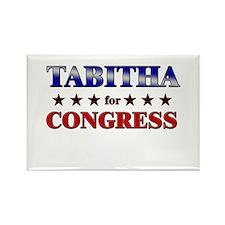 TABITHA for congress Rectangle Magnet