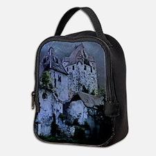 Darkness Halloween Castle Neoprene Lunch Bag