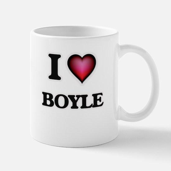 I Love Boyle Mugs