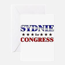 SYDNIE for congress Greeting Card