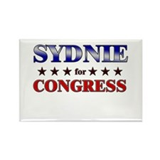 SYDNIE for congress Rectangle Magnet