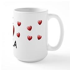 I Love Lila - Ceramic Mugs