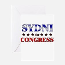 SYDNI for congress Greeting Card