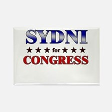 SYDNI for congress Rectangle Magnet