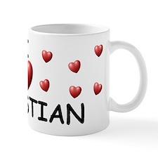 I Love Sebastian - Small Mugs
