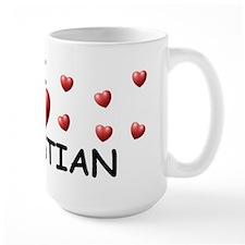 I Love Sebastian - Ceramic Mugs