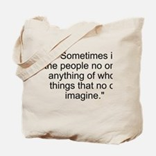 Turing Quote Tote Bag