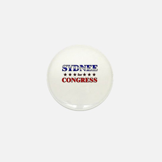 SYDNEE for congress Mini Button
