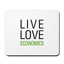 Live Love Economics Mousepad