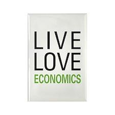 Live Love Economics Rectangle Magnet