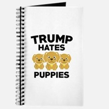 Trump Hates Puppies Journal