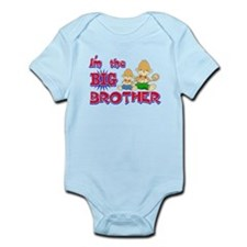 Here comes trouble Infant Bodysuit