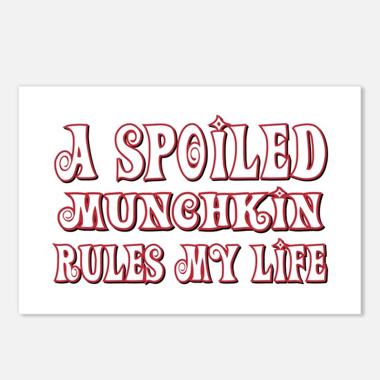 Spoiled Munchkin Postcards (Package of 8)