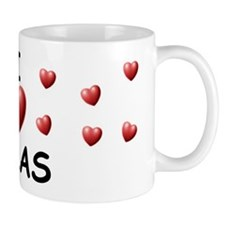 I Love Silas - Small Mug