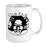 club PAN logo Mugs