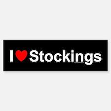 Stockings Bumper Bumper Sticker