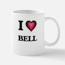 I Love Bell Mugs