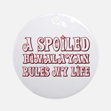 Spoiled Himalayan Ornament (Round)