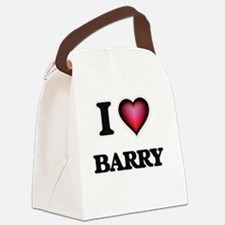 I Love Barry Canvas Lunch Bag