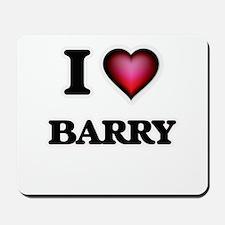 I Love Barry Mousepad