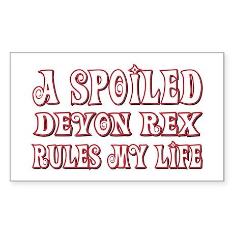 Spoiled Devon Rectangle Sticker