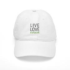 Live Love Evolve Baseball Cap