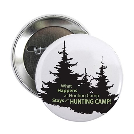 """Hunting Camp 2.25"""" Button"""