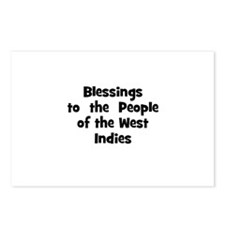 Blessings  to  the  People of Postcards (Package o