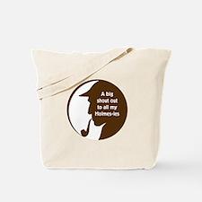 Holmes-ies Tote Bag