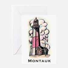 The Montauk Lighthouse Greeting Cards
