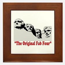 ORIGINAL FAB FOUR! Framed Tile