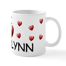 I Love Madelynn - Small Mug